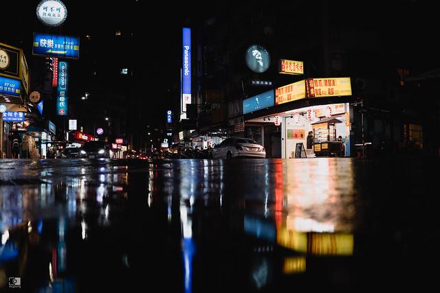 散步攝影:雨夜,35mm | 06