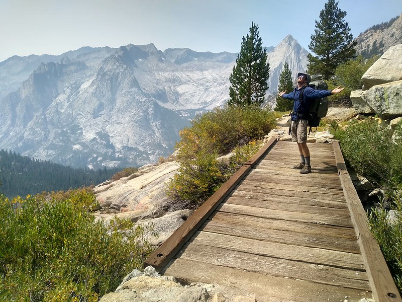 It's great to be alive and backpacking in the High Sierra! Life doesn't get much better than this!