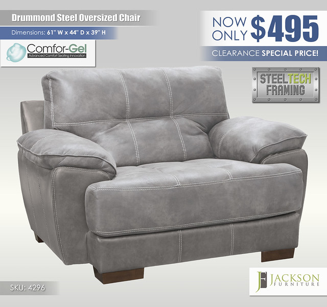Drummond Steel Oversized Chair_4269