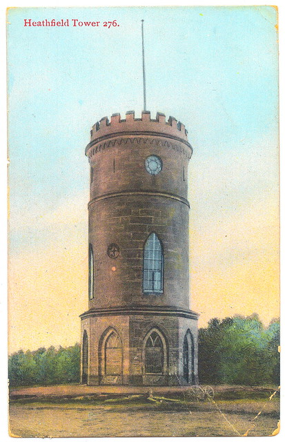 Heathfield Tower Prior to 1905. And Thomas Spencer, Co-Founder of & M&S.