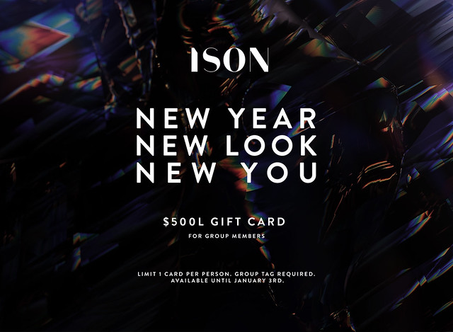 ISON - $500L Group Gift Card