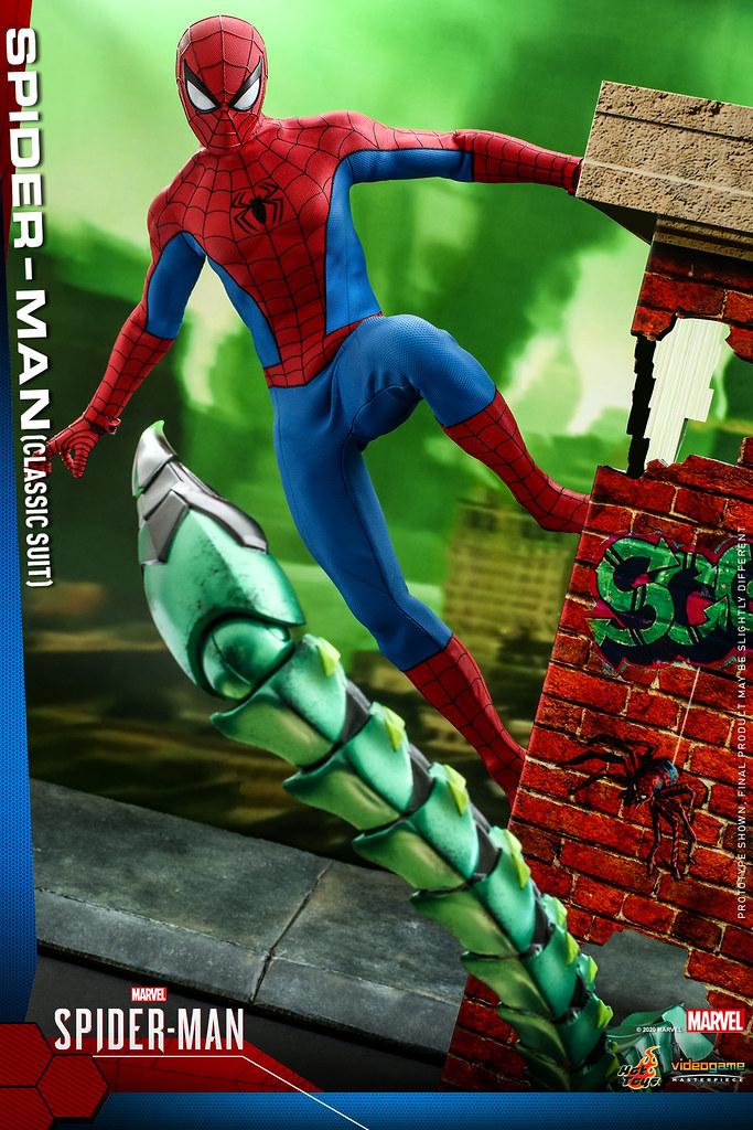 Hot Toys - VGM48 -《漫威蜘蛛人》蜘蛛人(經典戰衣)1/6比例人偶