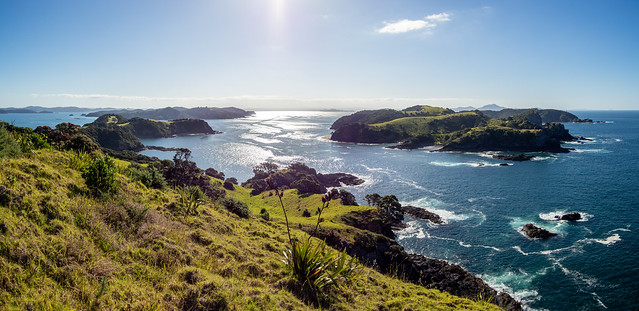 Pa site view- Bay of Islands