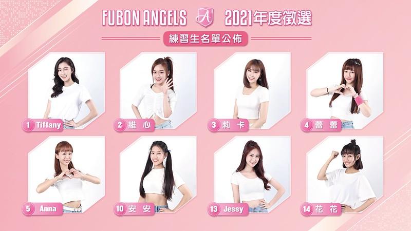 Fubon Angels練習生。(圖/富邦提供)