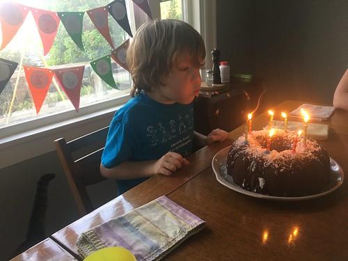 Felix turns 8