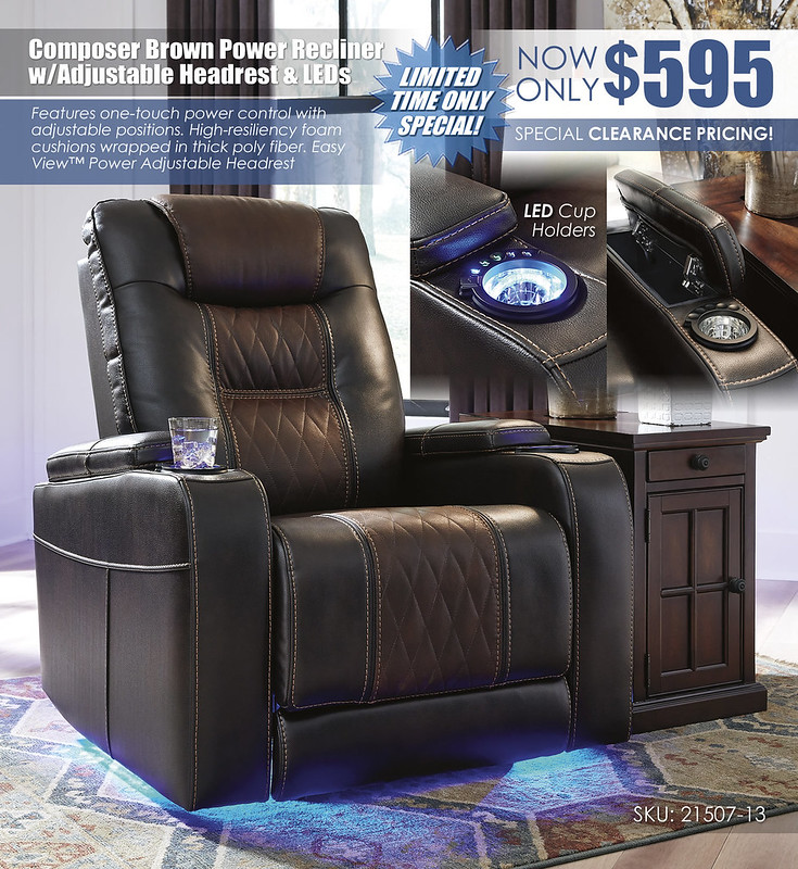 Composer Brown LED Recliner Special_21507-13_Update