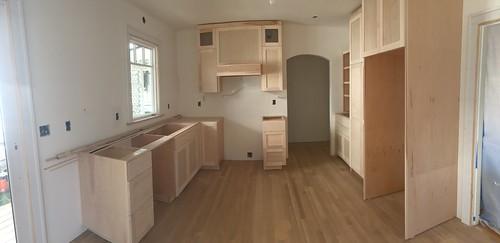 Kitchen progress - cabinets