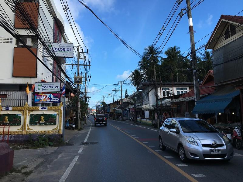 サムイ島ラマイの様子2020年12月下旬