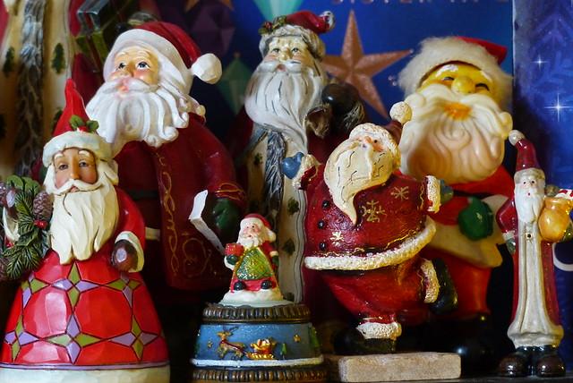 Santa's many sizes