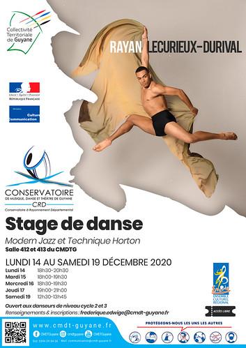 Stage de danse Modern Jazz et technique Horton (14-19/12/2020)