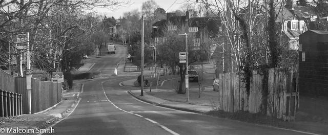 Entering Brookmans Park