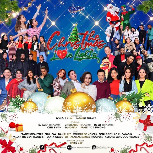 RTM Hadiahkan Tiga Hiburan Raikan Krismas di TV2