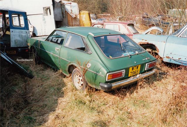 1977 Toyota Corolla 1200 Liftback WTW 796S (1996)