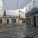rua Santo Antonio calle comercial en centro historico de Faro Portugal 01