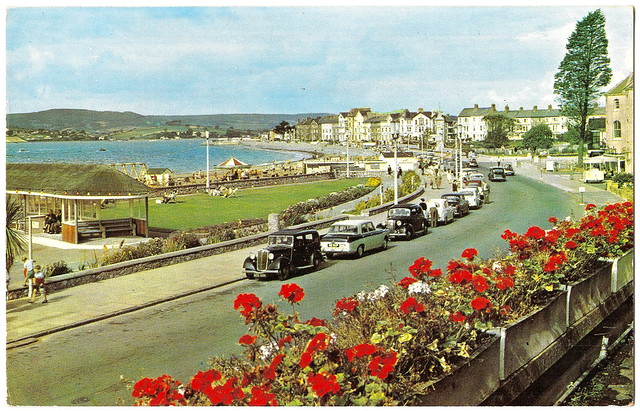 Exmouth - The Esplanade Prior to 1968. And Two Assassinations.
