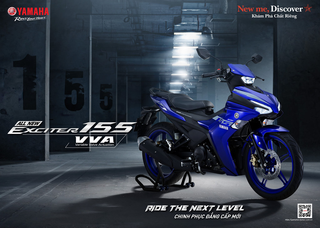 Yamaha Exciter 155 VVA Launched