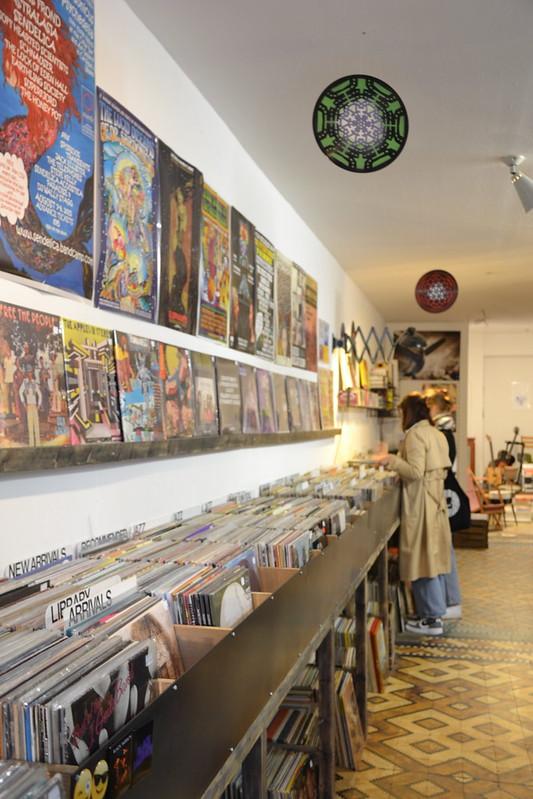 Tienda de discos de vinilo en Lovaina