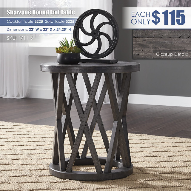 Sharzane End Table_T711-6