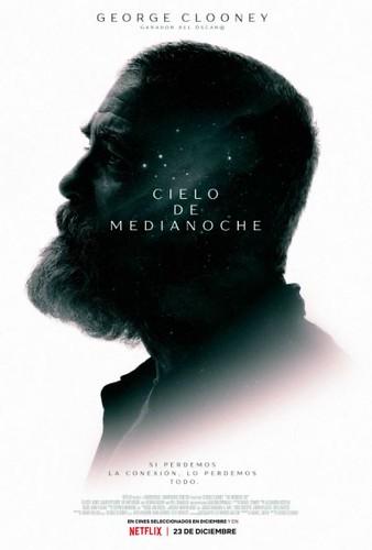 Cartel de la película.Cielo de Medianoche