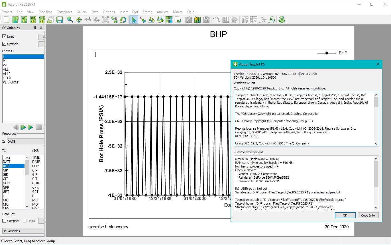 Download Tecplot RS 2020 R1 (2020.1.0.110500) Win-Linux x64 full license
