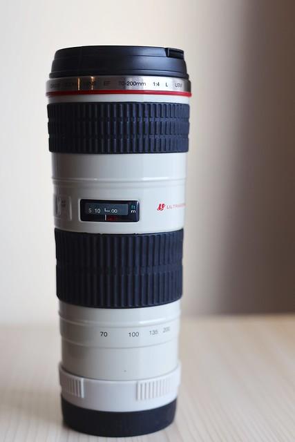 Canon EF 70-200mm f4L USM Lens Mug.