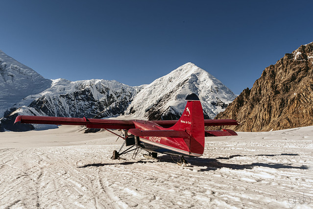 Havilland Otter at the Talkeetna Base camp