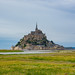 Getting further away from Mont-Saint-Michel.