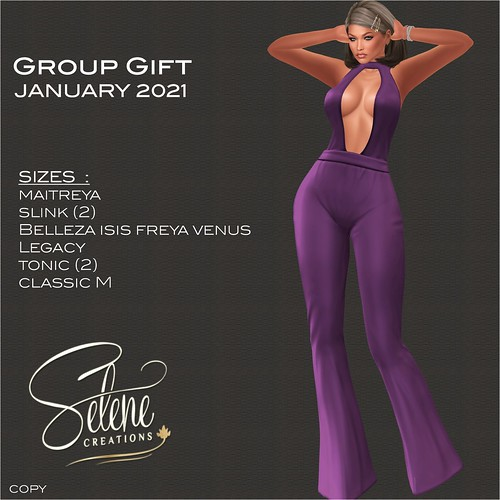 [Selene Creations] January 2021 Group Gift