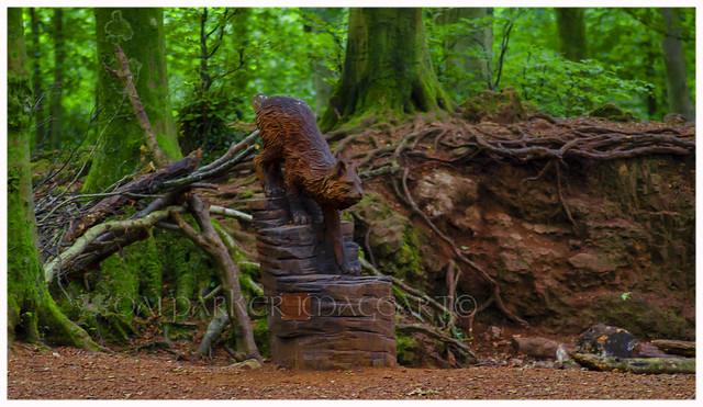 British Wildcat Sculpture