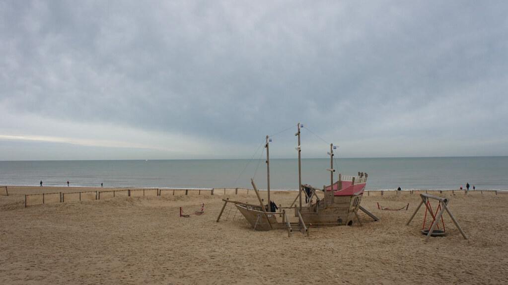 La playa de De Haan