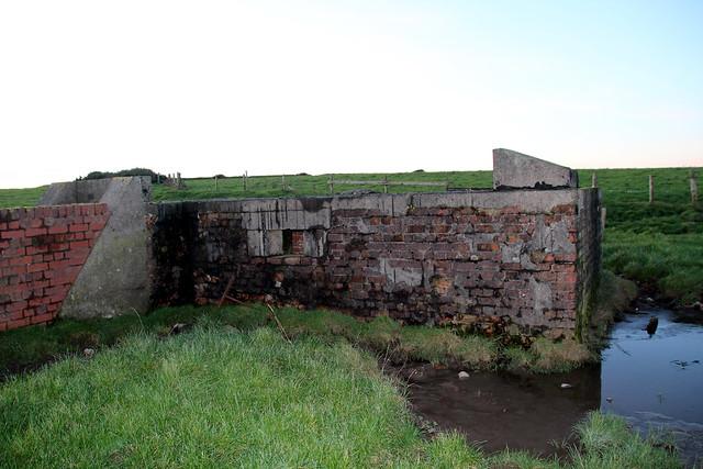Gun emplacement Mawflat lane, Walney island