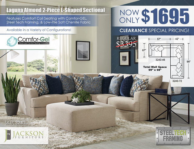 Laguna Almond 2 PC L Shaped Sectional_3240_Update