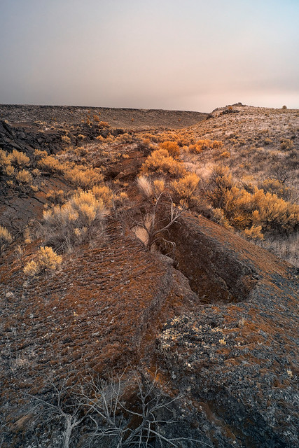 Exploring Lava Fields - Diamond, Oregon