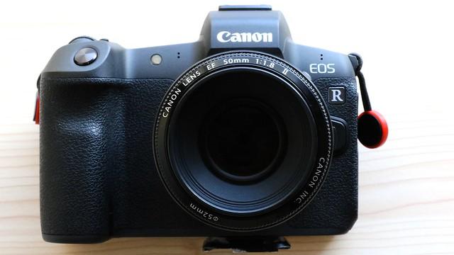 EF 50mm f1.8 II + EOS R.