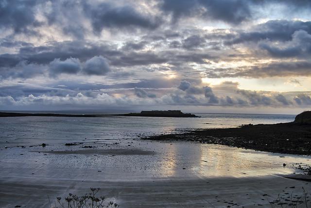 Longis Bay at Sunrise, Alderney