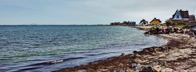 Am Strand von Graswarder