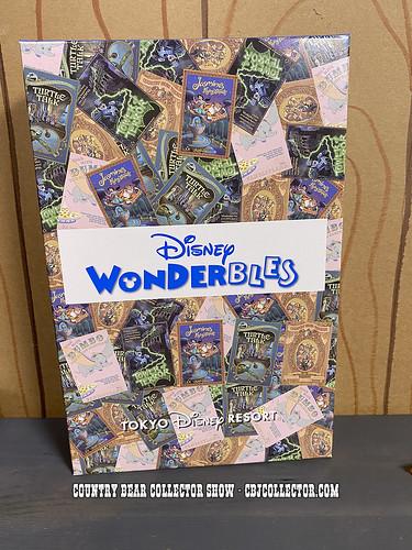 2020 Tokyo Disneyland Wonderbles Country Bear Drawstring Bag - CBCS #288
