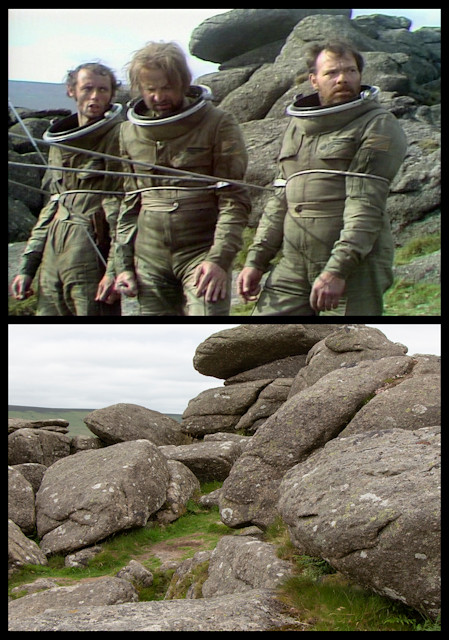 Doctor Who: The Sontaran Experiment - Hound Tor, Manaton
