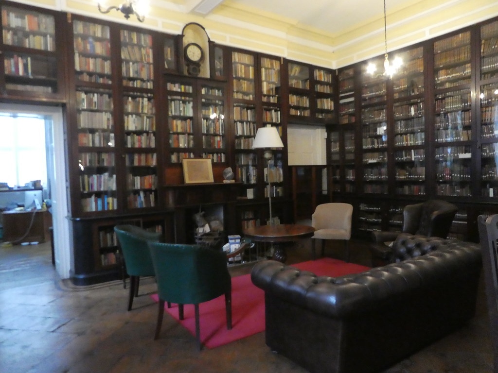 The colonial Garrison Library, Gibraltar