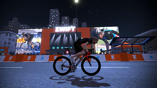 Giving the crowd a sprint to cheer for in Zwift's Crit City expansion