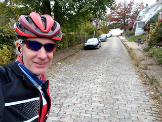 Honoring Paris-Roubaix with 22 secteurs of Pittsburgh pavé, including Climax Street