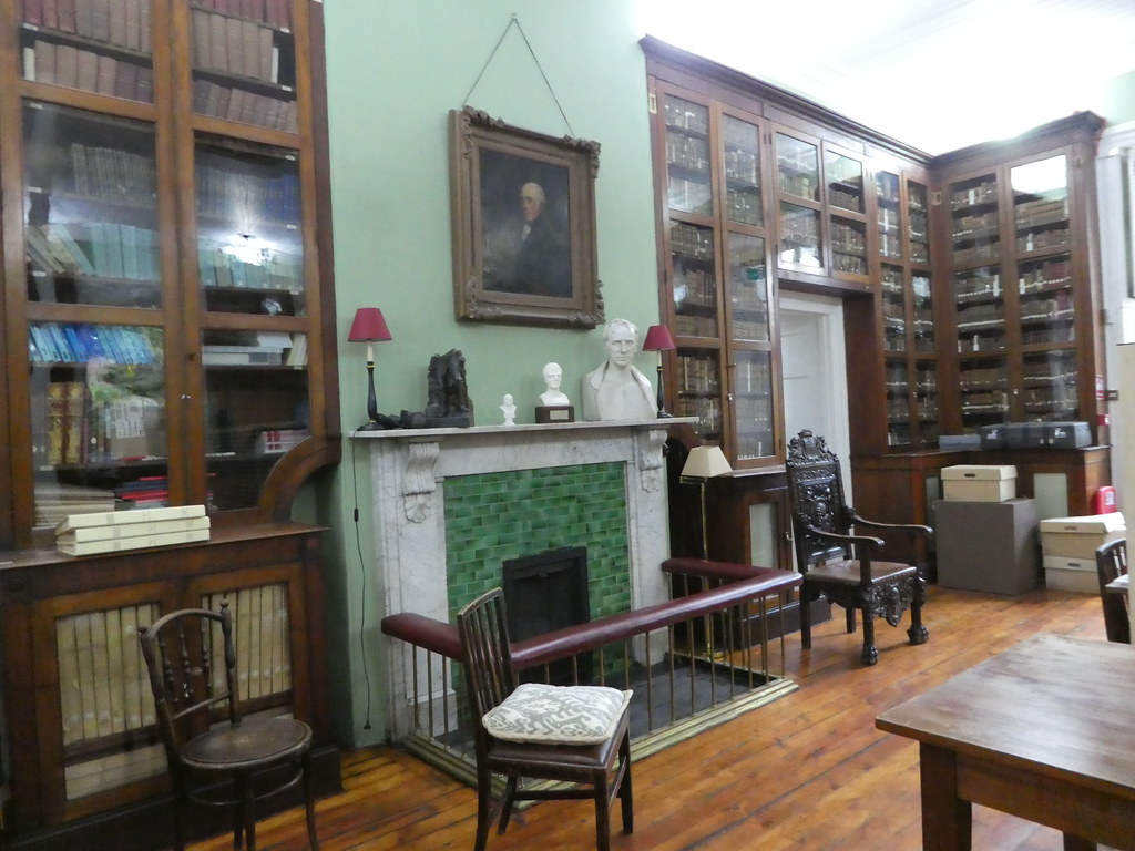 Interior of the Garrison Library, Gibraltar