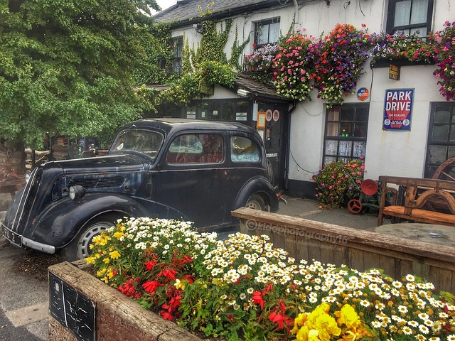 Vintage Car at Jonnie Fox's pub