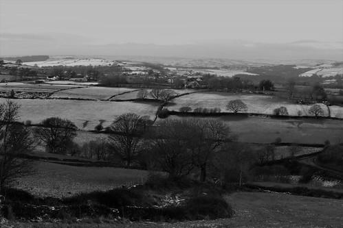 sheffield landscapes yorkshire england uk monochrome