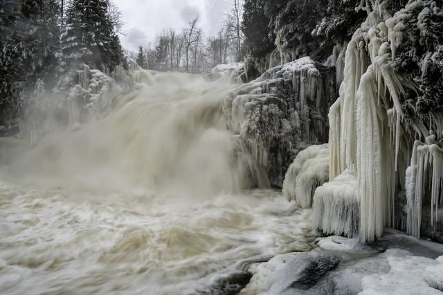 Shawinigan River Falls