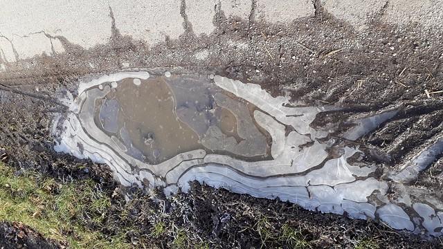 Eispfütze  Natur-Art