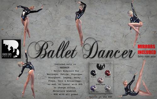 Ballet Dancer FATPACK