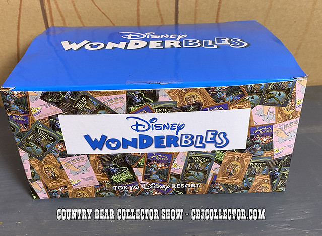 2020 Tokyo Disneyland Wonderbles Oscar's Teddy Bear Plush - CBCS #287