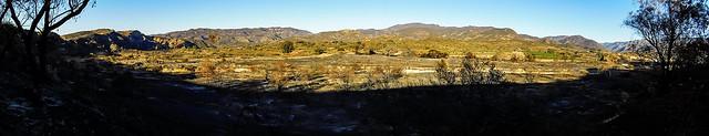 Bond Fire Panorama