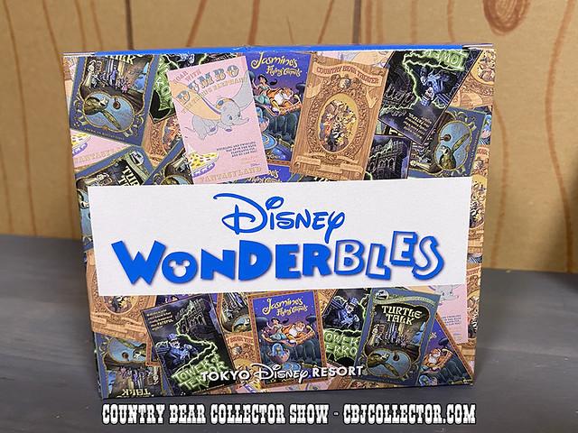 2020 Tokyo Disneyland Wonderbles Country Bear Plate - CBCS #289